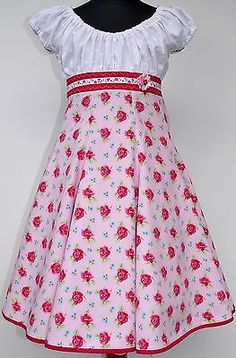 Roos Farbenmix Dress Elodie Carmen Dress Flared Dress School Party Size 116-122
