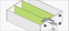 Hágalo Usted Mismo - ¿Cómo crear estantería con ruedas?
