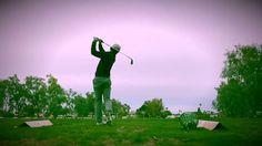 (Golf) long iron practice- 4 iron