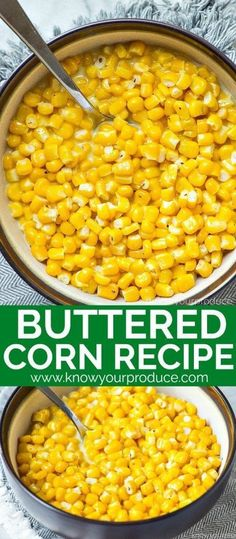 """Buttered Corn - buttered corn vegetarian side dish recipe """"buttered corn vegetarian side dish recipe You are in t - Vegetarian Side Dishes, Vegetable Side Dishes, Side Dishes Easy, Vegetable Recipes, Vegetarian Recipes, Cooking Recipes, Delicious Recipes, Traditional Thanksgiving Recipes, Best Thanksgiving Side Dishes"""