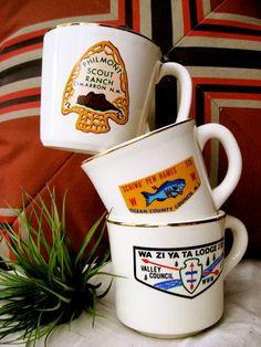 Boy Scout Memorabilia Mugs