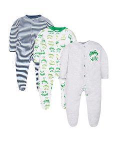 Frog Sleepsuits - 3