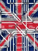 Muriva London Tube Stations Wallpaper