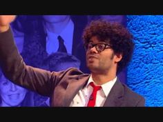 I will absolutely never get tired of this clip. Richard Ayoade. BFQotY 2010. Every so often since it aired I remember this one bit and just have to watch it.