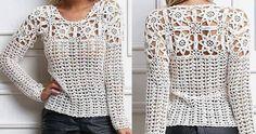 Gratis Nederlands haakpatroon van deze leuke trui, die je op verschillende manieren kunt maken, met of zonder mouwen, meer kleuren, of een andere steek, je kan hier eindeloos mee varieren.