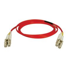 Tripp Lite N320-20M-RD Duplex Multimode 62.5/125 Red Fiber Optic Patch Cable LC/LC - 20M (65ft) by Tripp Lite. $31.03. From the Manufacturer                 Don't settle for less than the best—enjoy better signal quality and faster transmission! Tripp Lite's N320-Series fiber cables assure peak performance throughout your local area network application. Unlike cut-price cables, the N320-Series is manufactured to exacting specifications, using superior materials, for a diff...