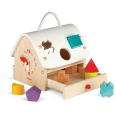 Janod Shape Sorting House $30