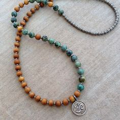 In stock, mala necklace $98 by Lovepray jewelry