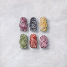 Jelly Babies by Joel Penkman Candy Drawing, Food Drawing, Joel Penkman, Art Alevel, Gcse Art Sketchbook, Claudia S, Food Artists, Jelly Babies, Candy Art