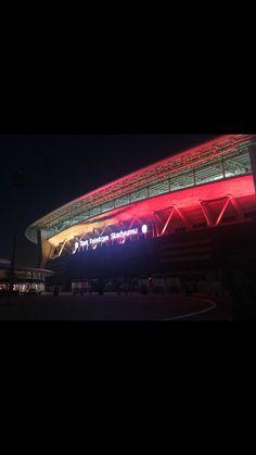 Türk Telekom Arena ❤️💛🦁 – Melis Cimbom – Join in the world of pin Story Time, My World, Instagram Story, Haha, Latina, Wallpaper, City, Travel, Bb
