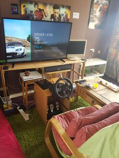DIY racing wheel stand for Logitech G920 http://ift.tt/2vYnYnF