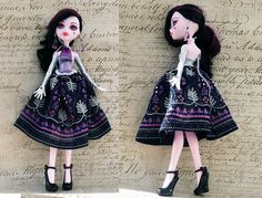 Monster High Clothes hand made Dress Jewelry by MonstersNight