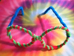pipe cleaner eyeframe