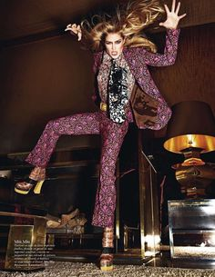 Mario Sorrenti / Vogue Paris August 2012.