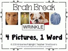 iTeach 5th: 4 pics 1 word