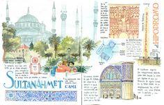 Cuadernos de viaje. Turquía.