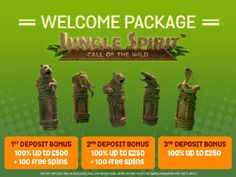 Our TRIPLE Deposit Welcome offer allows you to get: Bonus up to free on your deposit + 100 Free Spins Bonus up … Win Casino, Call Of The Wild, 100 Free, How To Make Money, Gaming, Video Games, Toys