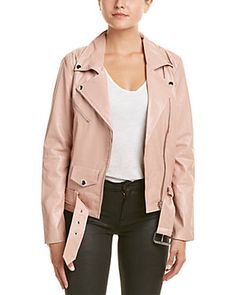 DO+BE Belted Hem Moto Jacket
