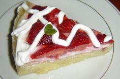 Jak upéct svěží jahodový dortík s tvarohem | recept Sweet Recipes, Cheesecake, Coffee, Fitness, Sugar, Kaffee, Gymnastics, Cheese Cakes, Cheesecakes