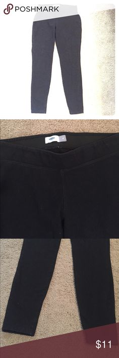 💜like New! Thick leggings Women's M. Cotton/poly/spandex blend. Barely worn. Old Navy Pants Leggings