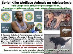Mural Animal: Serial Killer Mutilava Animais na Adolescência