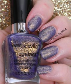 Wet N Wild Happy Hour Hop   Be Happy And Buy Polish  I need this nail polish these are my school's colors!!