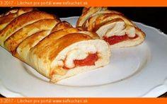 Pizza koláč na slano - Sefkuchari. Pizza, Bagel, French Toast, Pancakes, Bread, Breakfast, Basket, Morning Coffee, Brot