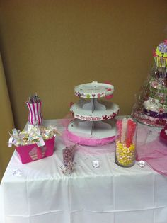 the sweets table.....