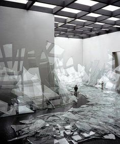 "David DiMichele: ""Broken Glass"" (2006)"