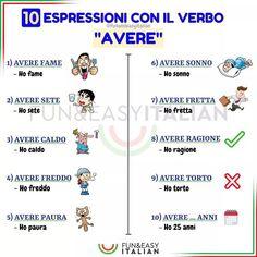 Italian Phrases, Italian Words, Learn To Speak Italian, Italian Vocabulary, Language Study, Italian Language, Learning Italian, Languages, Education