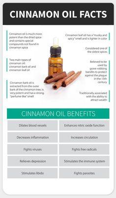 Cinnamon Oil Facts