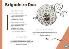 QUER ganhar dinheiro fazendo e vendendo brigadeiro? Clique aqui e saiba mais Credit Card Statement, Gourmet Cooking, Learn A New Skill, Chocolate, App, Food, Truffles, Food Items, Essen
