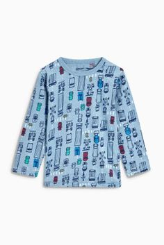 0232f597258b Buy Multi Racing Long Sleeve Tops Three Pack (3mths-6yrs) from the Next