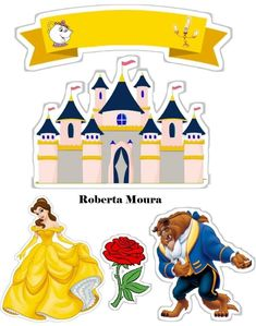 Auralila Bonilla's media content and analytics Disney Princess Crafts, Disney Princess Pictures, Disney Crafts, Disney Art, Princess Cupcake Toppers, Princess Cupcakes, Beauty And The Beast Party, Beauty And The Best, Princesa Disney Bella