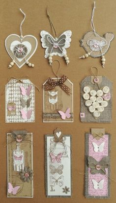 PACK 2 DAISY /& BUTTERFLY EMBELLISHMENT TOPPERS FOR CARDS AND CRAFTS