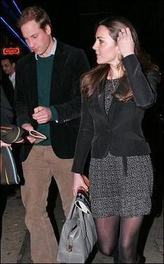 Leaving the theatre after watching 'War Horse' Rarer Kate pics
