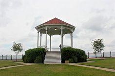 Natchez, MS. Mississippi River Gazebo. Many memories here.