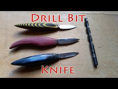 Watch This Kid Forge Old Drill Bits into Super-Sharp Whittling Knives - Core77