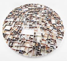 Paper Sculptures Map9 – Fubiz™