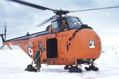 Westland Whirlwind HAR.1 XA866 of the Ice Patrol Ship HMS Protector in the Antarctic