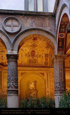 Palazzo Vecchio, il cortile