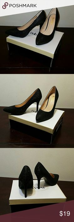 Beatiful Heels Black Mesh Heels elegance considerable offers #NO LOW BALLS ##: thank you !!!! All shoes in my closet are New comes with original box no trades sorry Bella Marie Shoes Heels