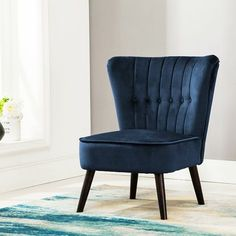 Occasional HIGH WING BACK Fabric Armchair Empress Fireside Chair Foot Stool Seat