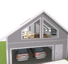 Tenker noe lignende denne garasje, kanskje med karnapp hvis dere mener det passer til garasjen og huset vårt.