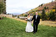 Fall St Regis Deer Valley Wedding | Logan Walker Photography | Badgley Mischka