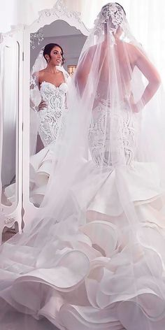 Wonderful Perfect Wedding Dress For The Bride Ideas. Ineffable Perfect Wedding Dress For The Bride Ideas. Perfect Wedding Dress, Best Wedding Dresses, Bridal Dresses, Bridesmaid Dresses, Trendy Wedding, Boho Wedding, 1920s Wedding, Wedding Bride, Wedding Gowns
