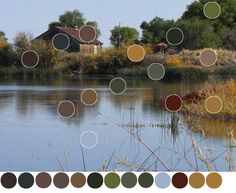 artist Phil Bates expalins how in landscape paintings neutral colors are a necessity - WetCanvas