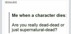 Supernatural Dead