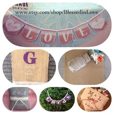 Create your custom handmade wedding decor package at Blessed in Love