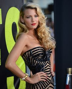 Blake Lively at the premiere of Savages